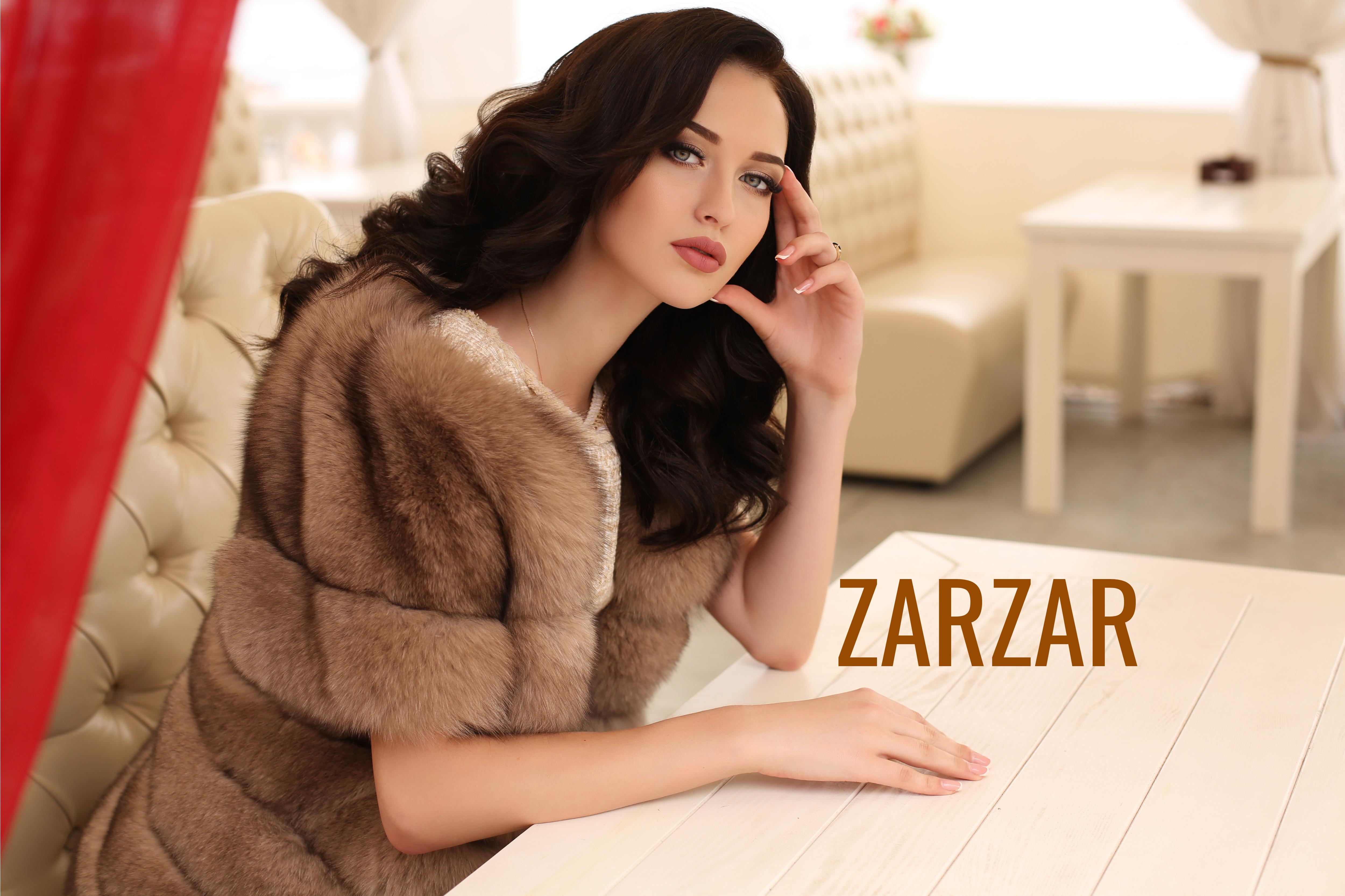 ZARZAR FASHION Sexy Coats For Women (Cute Coats For Girls). Beautiful Fashion Models Modeling In Beautiful Coats For Beautiful Fashion Advertisements (Sexy Fashion Ads).