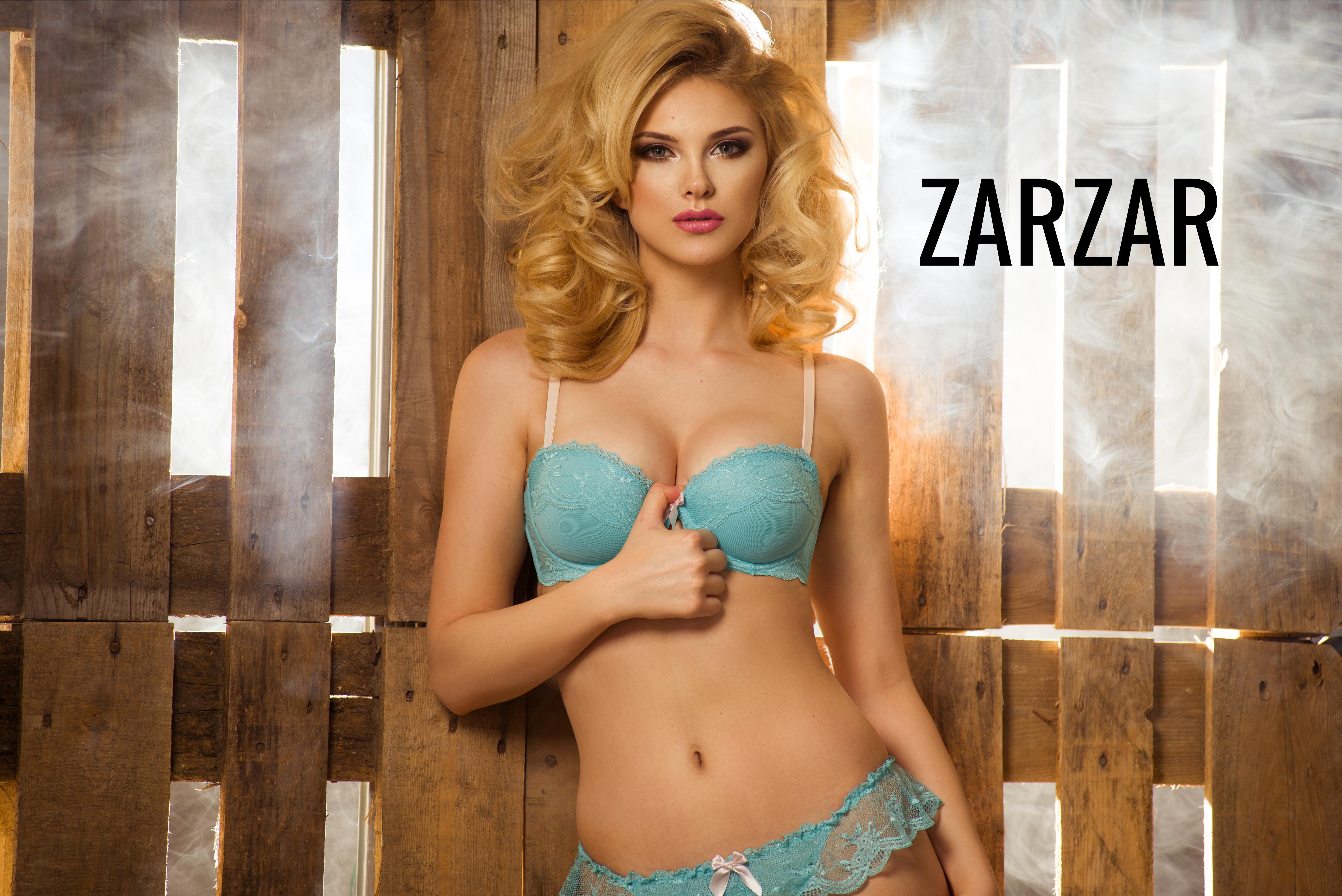 ZARZAR FASHION Beautiful Fashion Model Modeling In Sexy Lingerie (Sexy Bras & Beautiful Panties For Women).