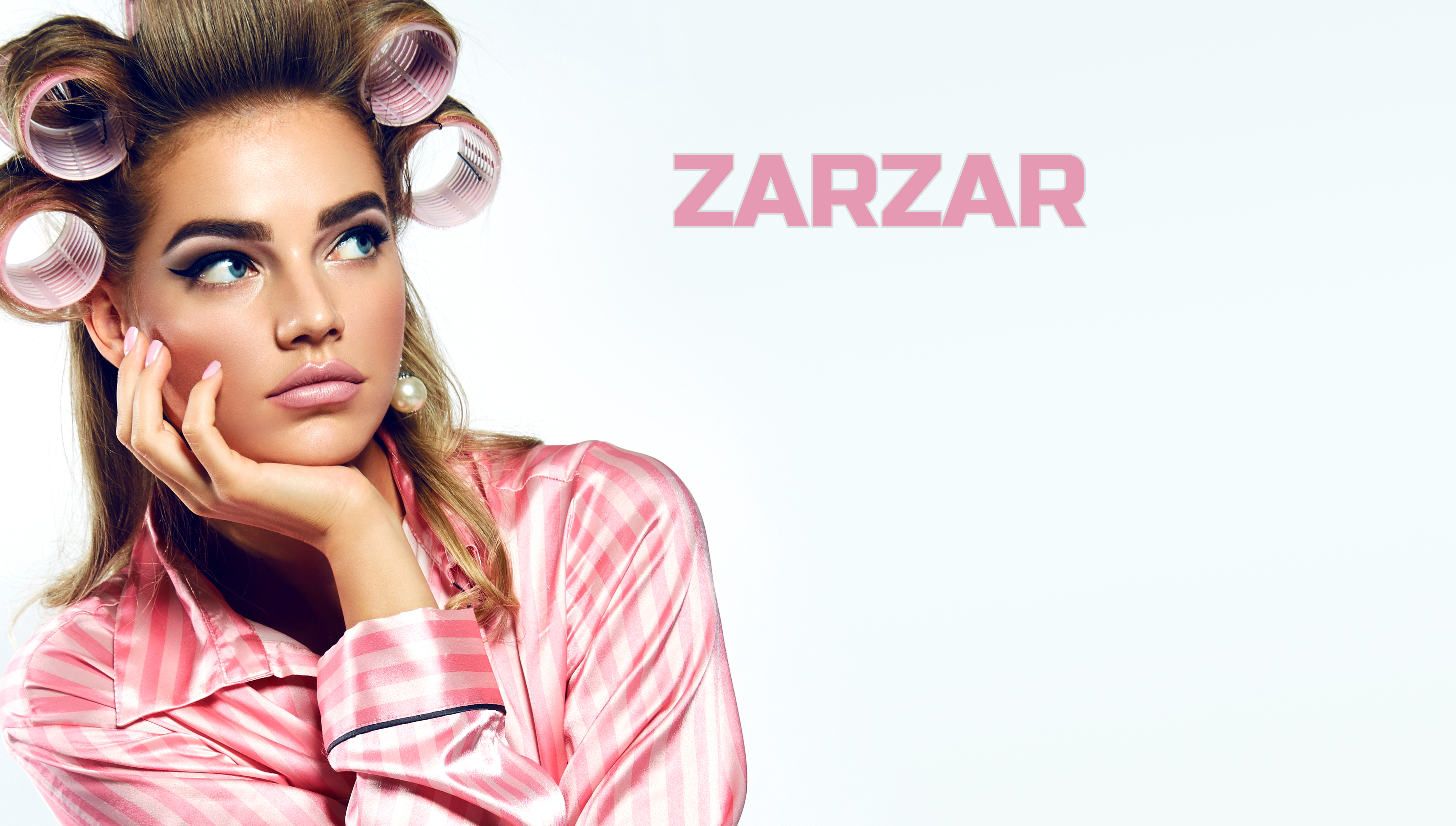 Luxury Hair Care Products For Women. Beautiful Hair Styling Models, Beauty Models, And Beautiful Fashion Models. ZARZAR FASHION Sexy Hair Care Products For Women.