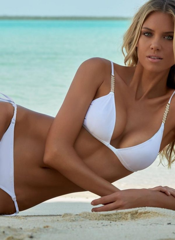 Beautiful Melissa Odabash White Bikinis Melissa Odabash Sexy Triangle Bikinis